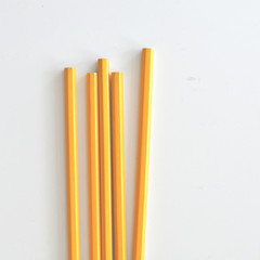 Sunny Yellow Pencils {5} | Lead Pencils | Stocking Stuffer | Teacher Gift <5 | D