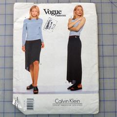 Vogue 2011 petite top and skirt pattern. Sizes 12 - 16. Uncut pattern