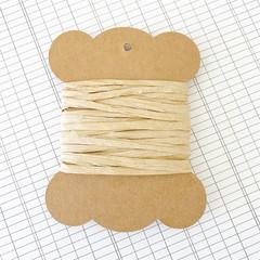 5 Metres Natural Paper Raffia