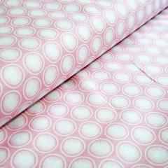 Pink Modern fabric - Cotton Fabric - Price per half metre