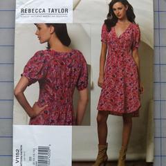 Vogue V1152 dress pattern. Sizes 8 - 14. Uncut pattern