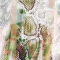 Snake skin print chiffon. Fabric by the metre