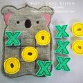 Felt Koala Tic Tac Toe, flat felt game, koala game,
