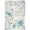 Rice Paper - Decoupage - 1 x A4 Size Sheet - Dreams