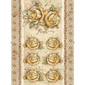 Rice Paper - Decoupage - 1 x A4 Size Sheet - Roses