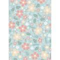 Rice Paper - Decoupage -  1 x A4 Size Sheet - Flowers