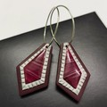 REGAL dangle earrings - THE SILVER EDIT