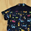 Dazzling Dinos - Boy's Button up Shirt - Size 4