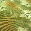 Knit Lace - Autumn Scribble - Price per metre