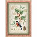 Rice Paper - Decoupage - 1 x A4 Size Sheet - Botanic Bird
