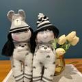 Couple Handmade Dolls, Baby wish gift, Wedding gift