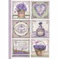 Rice Paper - Decoupage - 1 x A4 Size Sheet - Lavender Cards