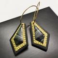 REGAL dangle earrings - THE GOLD EDIT