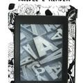 Black Flower Skull Kindle Padded E-Reader Case, Kindle Sleeve