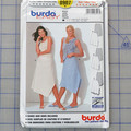 Burda easy 8907 semi-fitted skirt pattern. Size 8 - 20. Uncut pattern