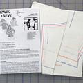 Kwik Sew 2168 pattern for a girls top. Sizes 8 - 14. Uncut pattern.
