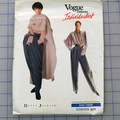 Vogue 2377 blouse, pants and poncho pattern. Sizes 12 - 16. Uncut pattern.