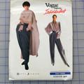 Vogue 2377 blouse, pants and poncho pattern. Sizes 12 - 16. Uncut pattern.