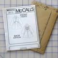 McCalls M5513 lined coat pattern. Size 10 - 16. Uncut pattern.