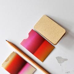 LAST {6w folded cards} Pink Mini Folded Notes | Mini Blank Mini Notecard Mini No