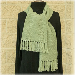 Soft woollen scarves.