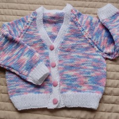 SIZE 2 yrs -cardigan , girl, Washable