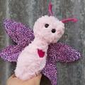 Butterfly softie, handmade toy