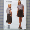 Vogue V1170 top and skirt pattern. Sizes 12 - 18. Uncut pattern