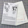 Kwik Sew 2167 pattern for a girls top. Sizes 4 - 7. Uncut pattern.
