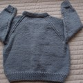SIZE 3-4 :Hand knitted cardigan by CuddleCorner, Boy, washable