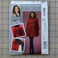 McCalls M5513 lined coat pattern. Size 10 - 16. Uncut pattern.