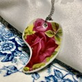 Crimson Rose Pendant