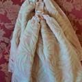 Set x 2 Apricot  Crochet Top Hand Towels Thick Cotton Free Shipping Australia