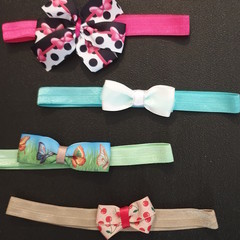 Baby/ Toddler headbands with Bows