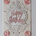 Happy Birthday baby girl Card