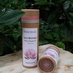 Coco Mistique Natural Deodorant with Shea I Vegan I Palm Oil Free I Zero Waste