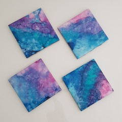 """Escape"" coaster set"