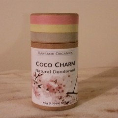 Coco Charm Natural Deodorant I Vegan I Palm Oil Free I Zero Waste