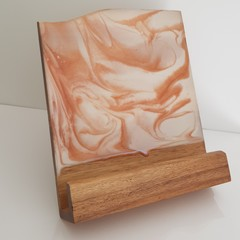 Resin art tablet / book stand