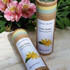 Coco Ylang Natural Deodorant I Vegan I Palm Oil Free I Zero Waste