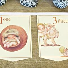 Gumnut Babies Nursery Bunting May Gibbs Counting Birthday Banner Australiana