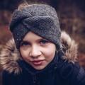 Children, teenager, women handmade knit wool headband, turban, Christmas gifts f