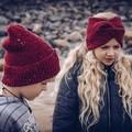 Children Beanie and Children Headband Set, Women Beanie and Headband Set, Size F