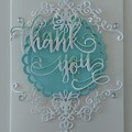 3d thank you card