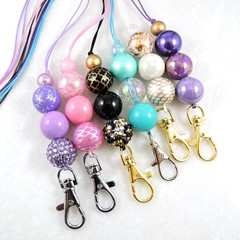 Acrylic bead  lanyards