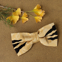 Tasmanian Tiger Pet Bow Tie - Mustard
