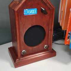 Dab Plus Digital and FM Radio, Vintage, Steampunk, Hand Made