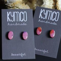 'Secret Garden' series earrings - petite studs