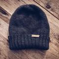 Men beanie, Christmas gift ideas for men, men wool  knit hat, stocking stuffers,