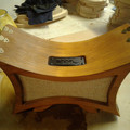 Hand Built, Steampunk Stereo FM Radio Bluetooth Speaker. USB Re-Chargeable